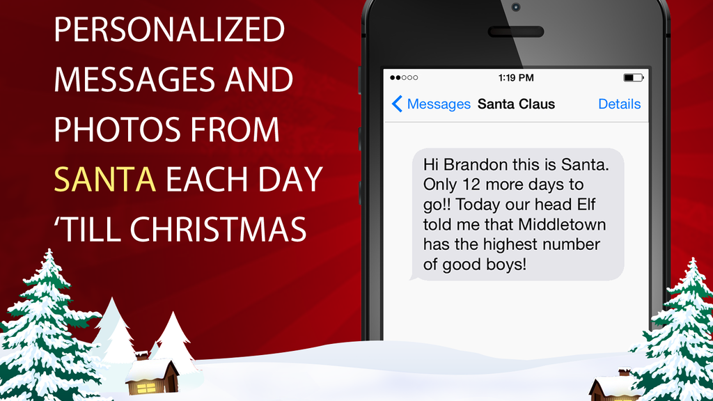 Have Santa Text Your Child This Christmas! project video thumbnail