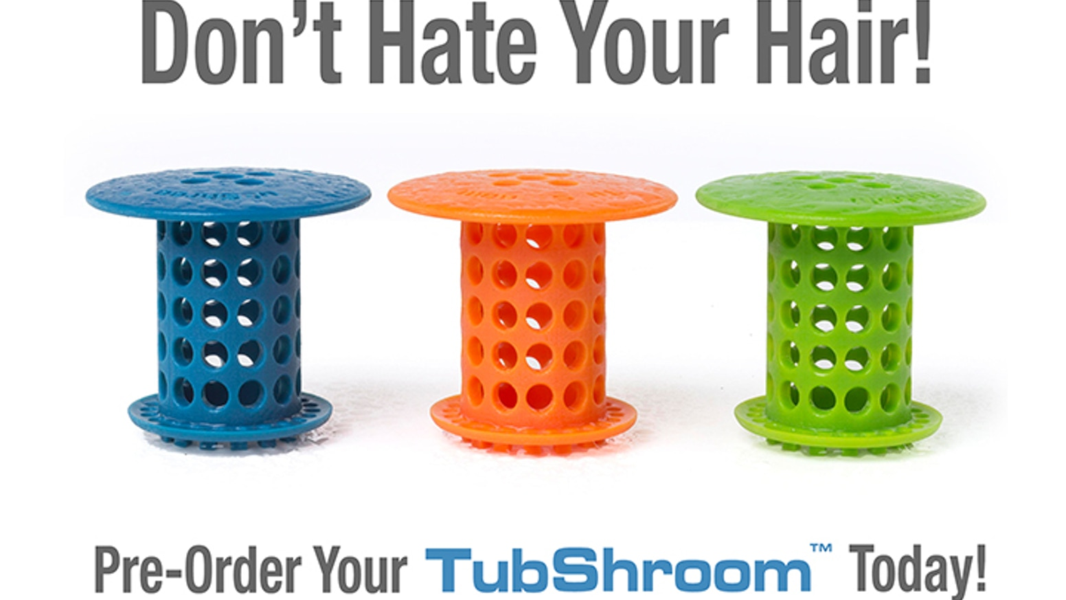 With your help, TubShroom™ has been funded and is now available for purchase!