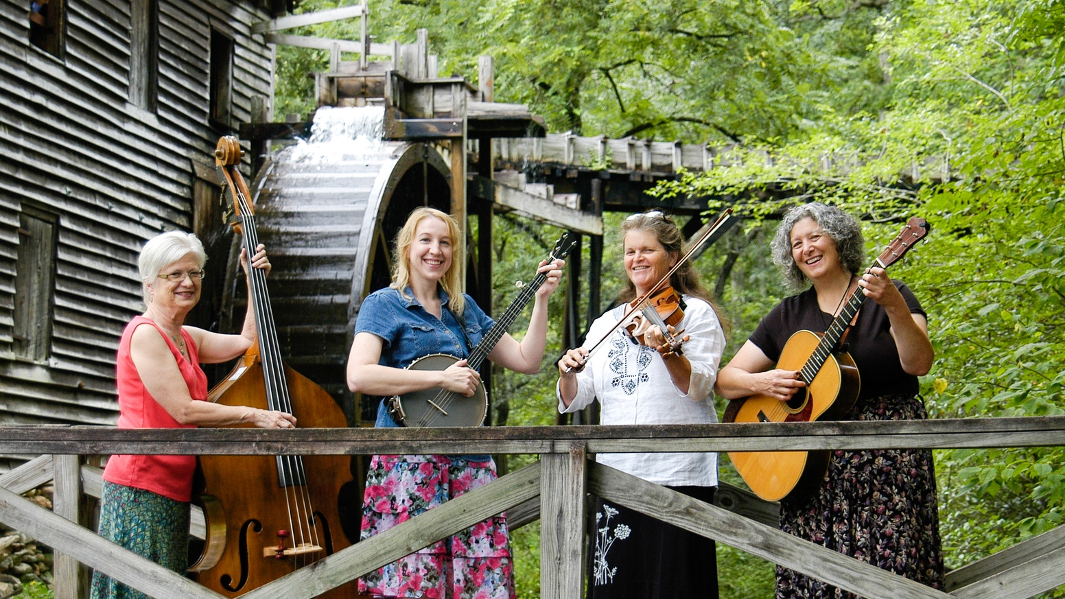 All-female old-time string band is raising money to fund their debut album.