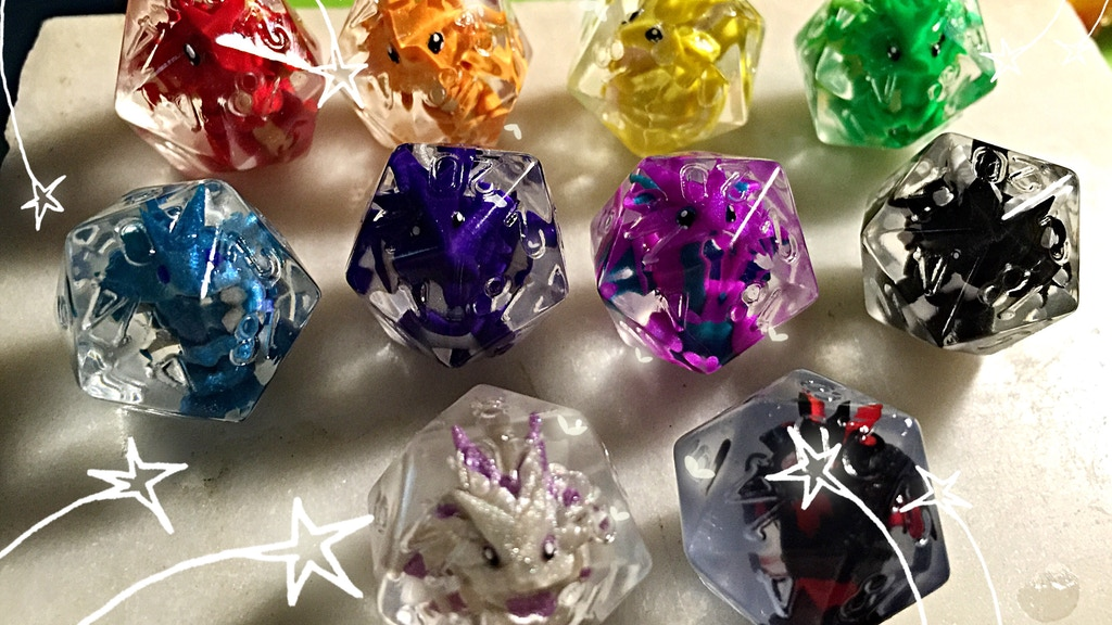 LittleCLUUs Custom Dice!! project video thumbnail