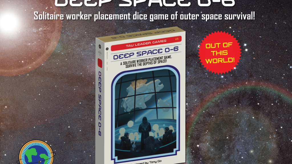 Deep Space D-6 — 1 Player Worker Placement Dice Game project video thumbnail