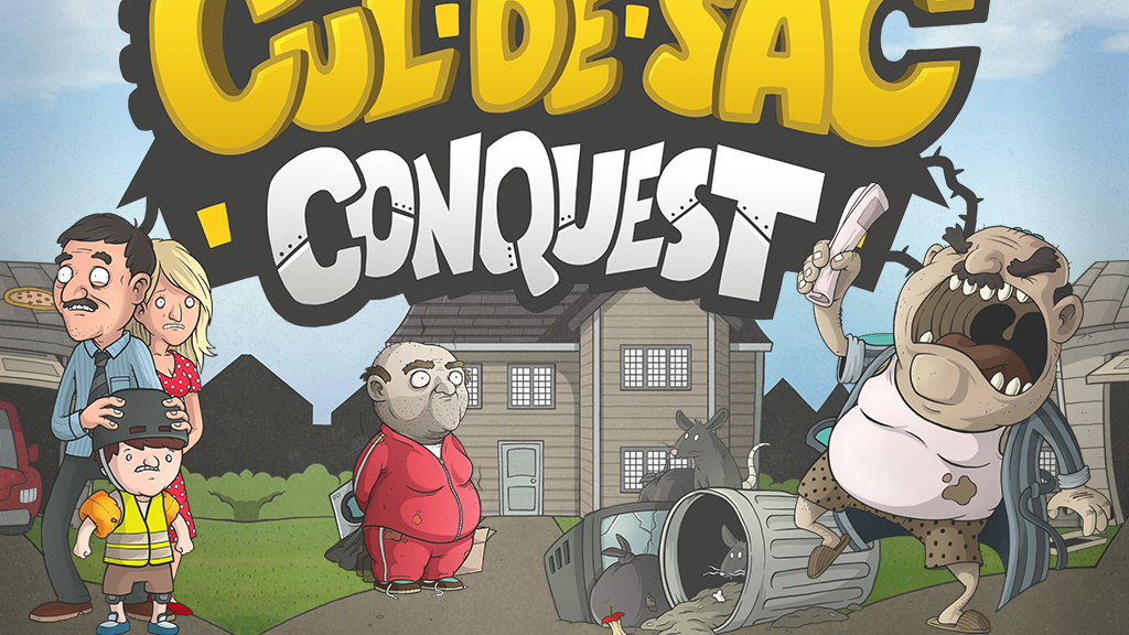 Cul-De-Sac Conquest - Card Game project video thumbnail