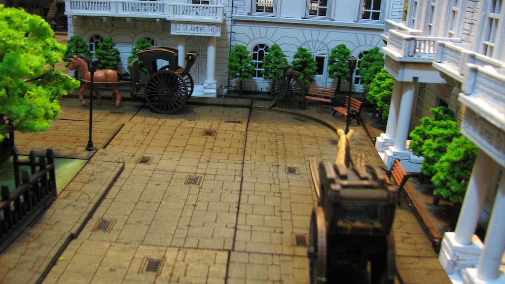 Victorian/SteamPunk Terrain & Road/River Tiles in 28mm project video thumbnail