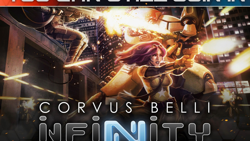 Corvus Belli's INFINITY Roleplaying Game project video thumbnail