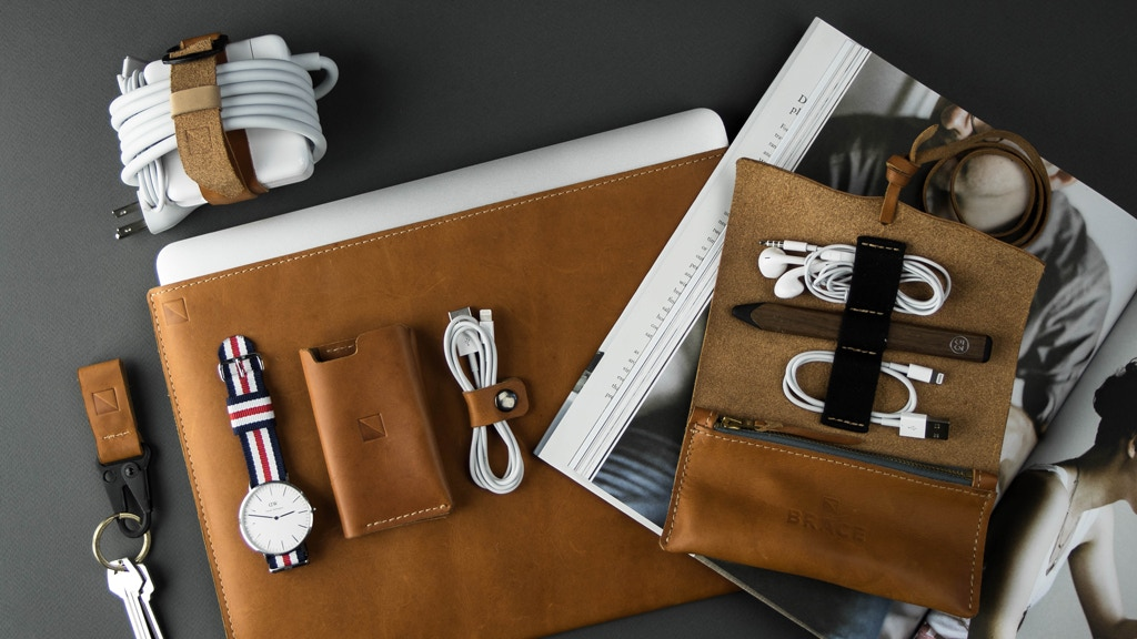 Brace – Beautiful leather accessories for life on the go project video thumbnail