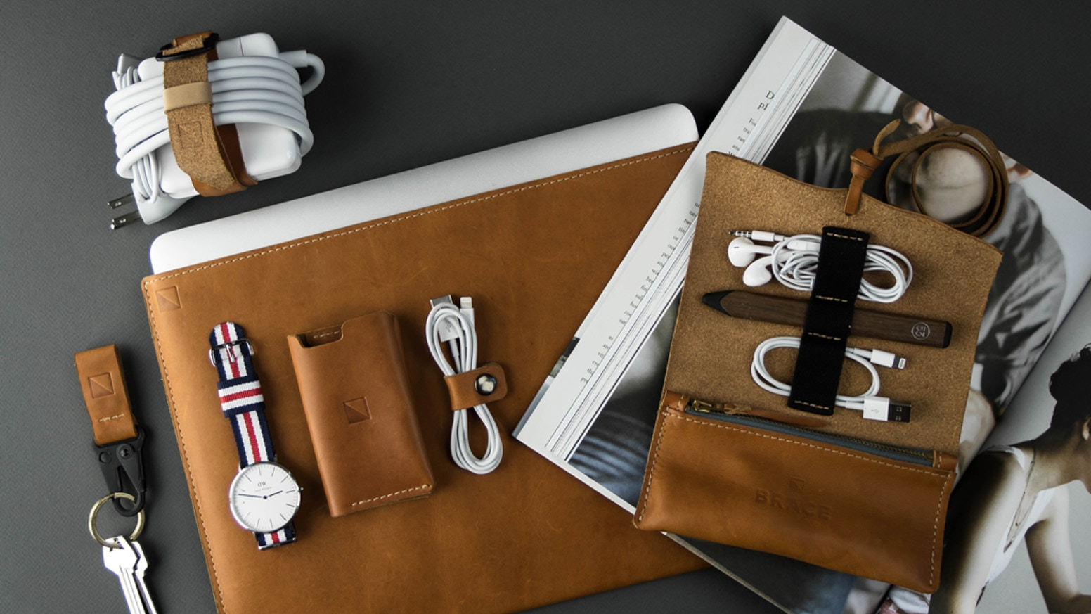 Our beautiful leather accessories are the essentials you need for life's everyday adventures