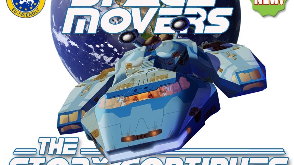 Space Movers the Story Continues: Expansion & Game Offer project video thumbnail