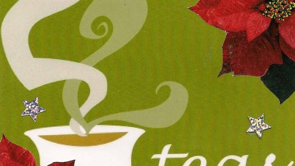 Holiday Tea Time with 52Teas! project video thumbnail