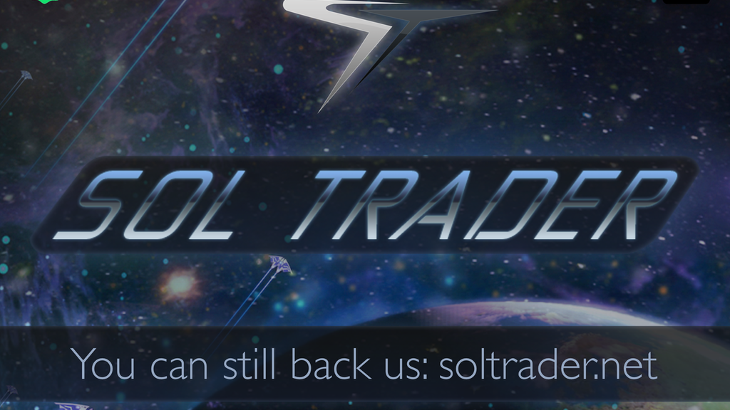 Sol Trader: a single player space game all about people project video thumbnail