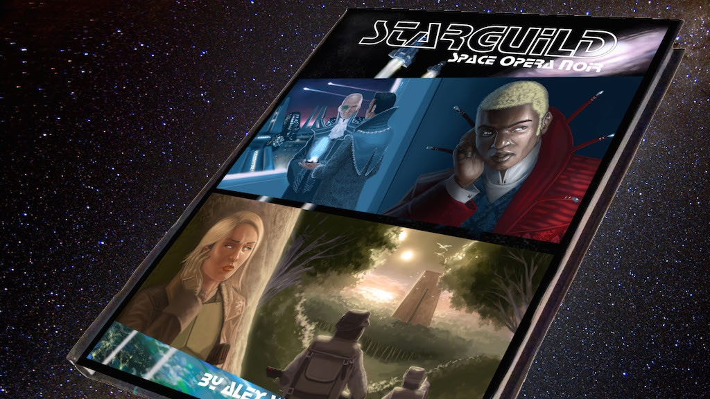 Starguild: Space Opera Noir tabletop RPG project video thumbnail