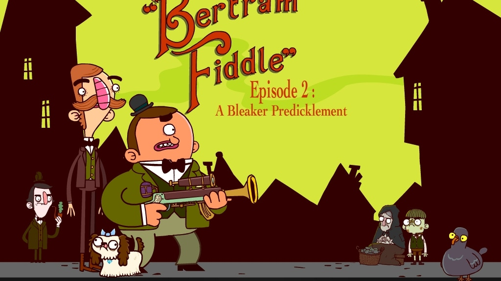 Bertram Fiddle - A Victorian Animated Adventure Game project video thumbnail