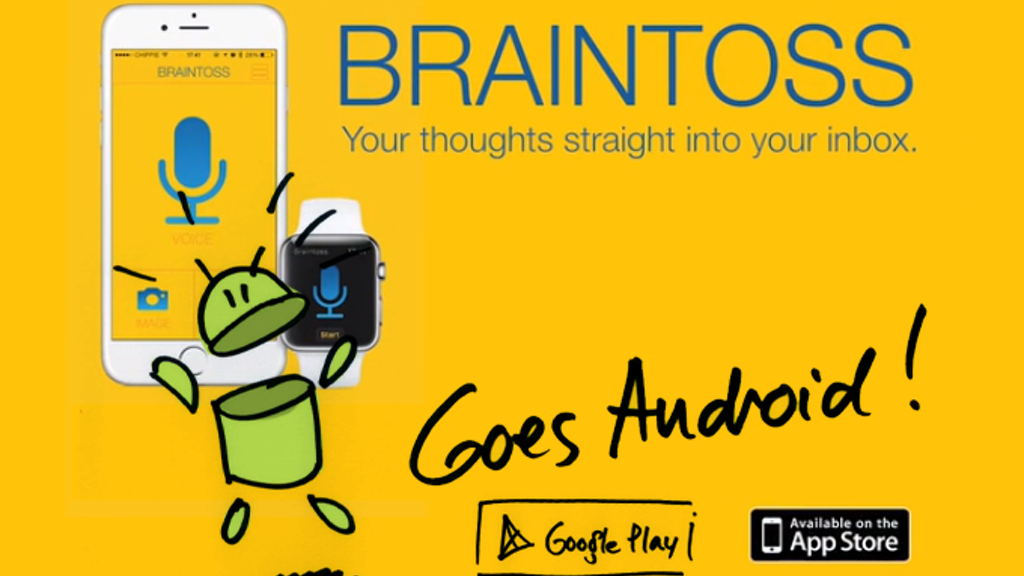 Braintoss goes Android project video thumbnail