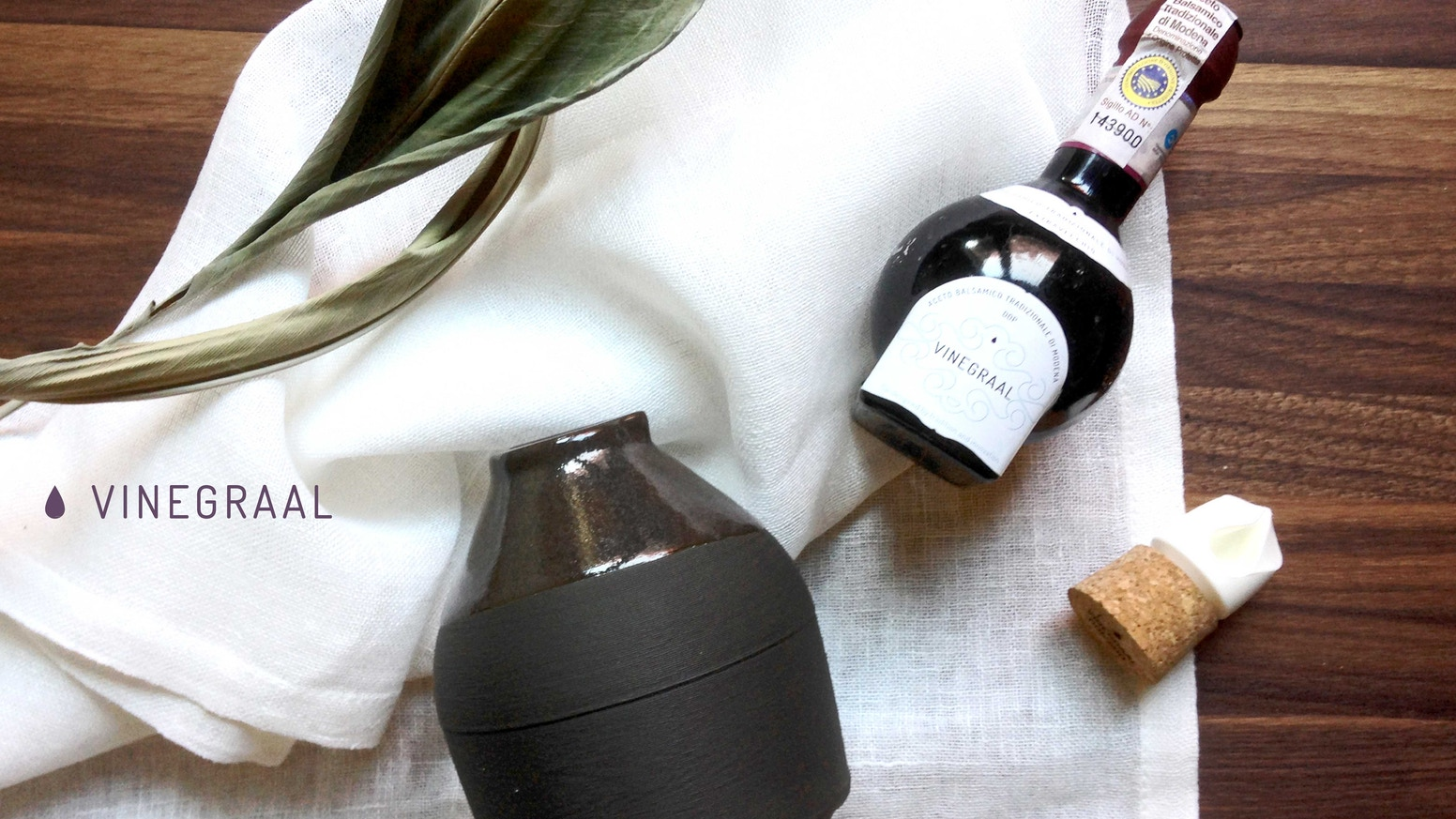 Vinegraal, a celebratory product marking the 50th anniversary of Consorteria Aceto Balsamico Tradizionale. Let's celebrate together!