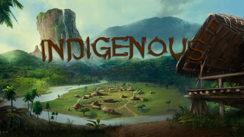 Project image for Indigenous - An Atmospheric Action RPG
