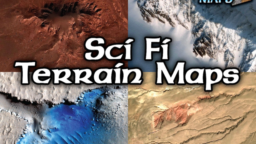 Project image for Sci Fi Terrain Maps (Canceled)