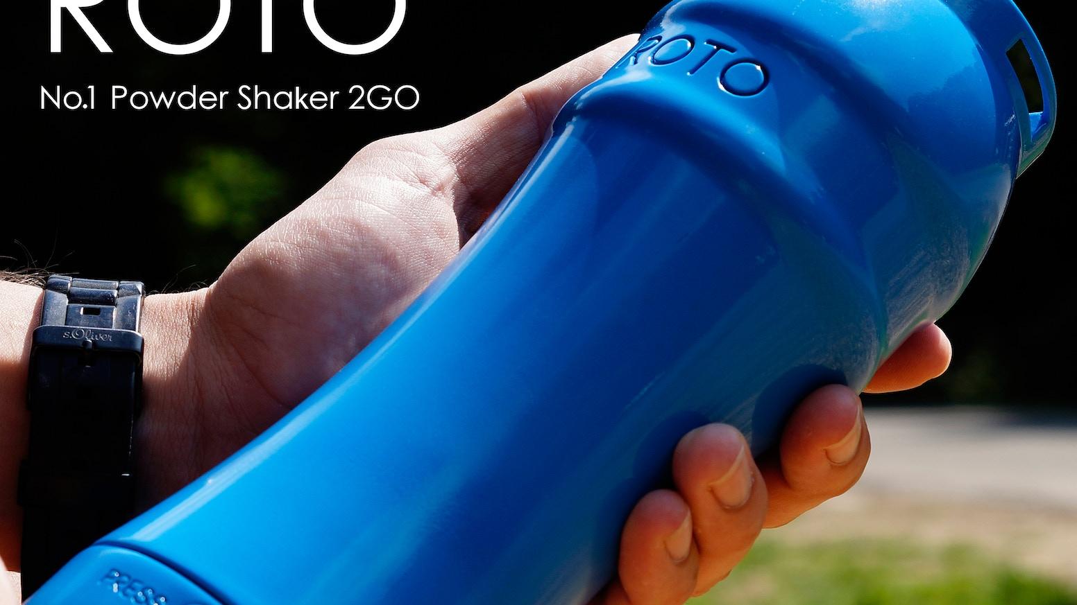Roto Powershaker: No more lumpy shakes! by Tom » Thank you