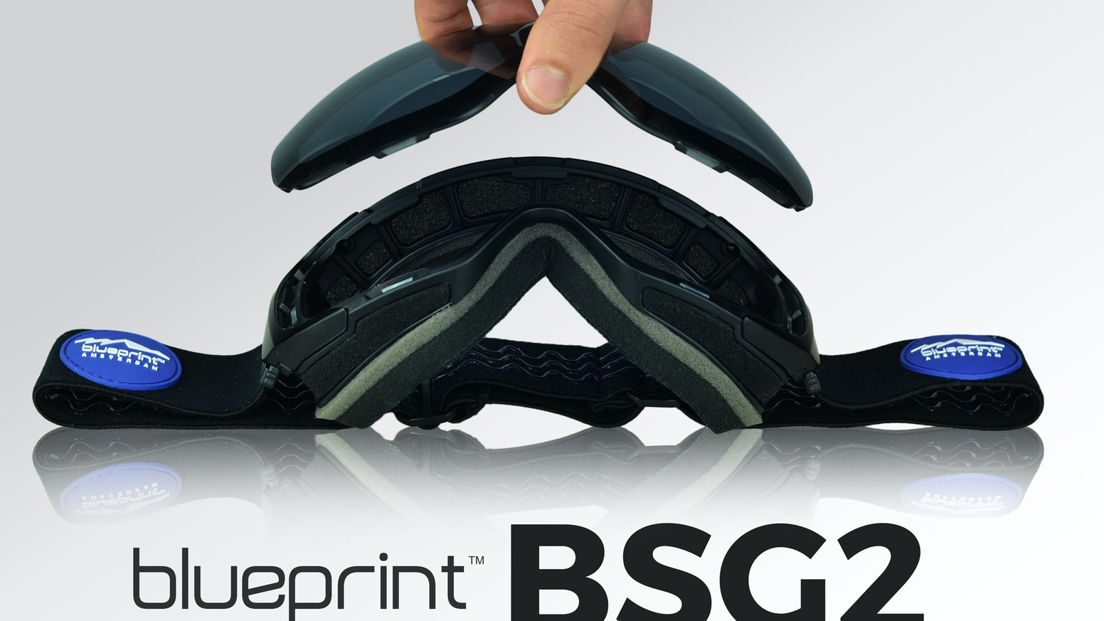 The BSG2 is an all weather and top quality snow goggle featuring instantly replaceable magnetic lenses and an unbreakable frame.