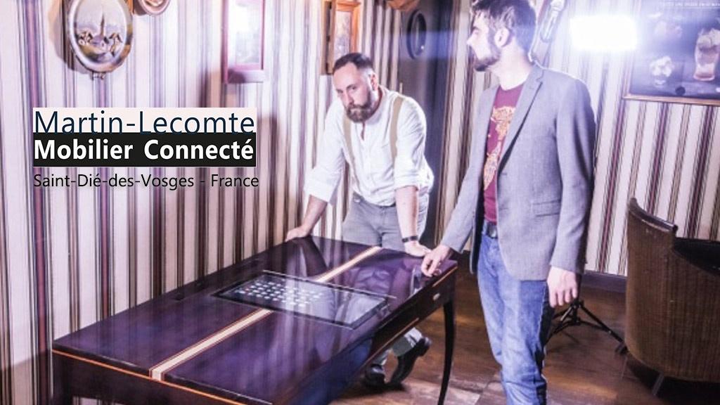 """""""Le Bureau Connecté"""" par Martin-Lecomte Mobilier Connecté project video thumbnail"""