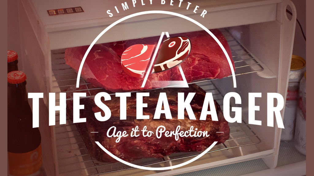 The SteakAger: Dry Age Steaks Right in Your Fridge project video thumbnail