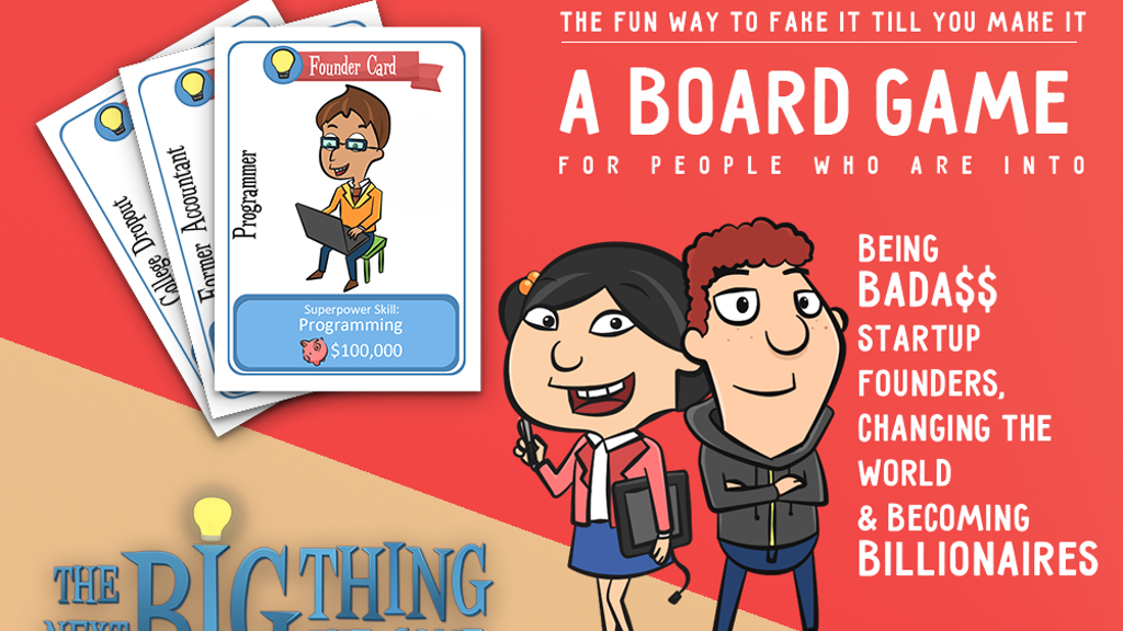The Next Big Thing | #1 Board Game For Entrepreneurship & VC project video thumbnail