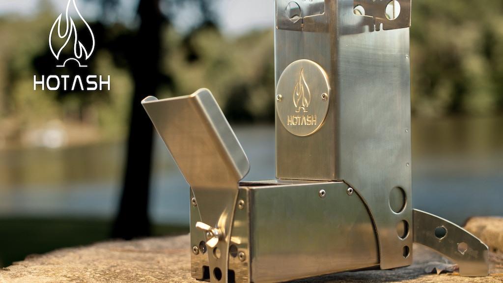 Hot Ash Camping Gear: Wood Burning Rocket Stove project video thumbnail
