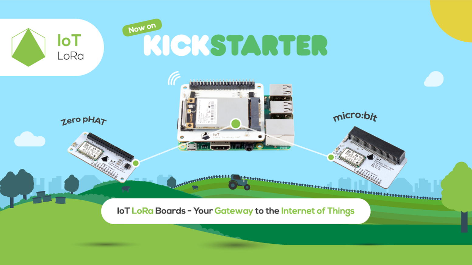IoT LoRa Boards - Your Gateway to the Internet of Things by Pi