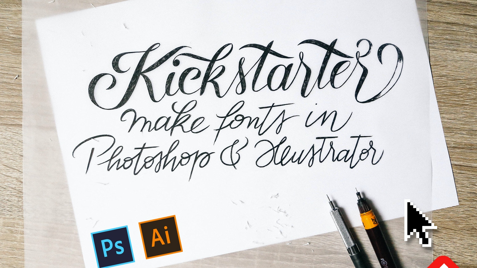 Easily turn your lettering into usable, colorful fonts, and sell or share them right within Photoshop & Illustrator.