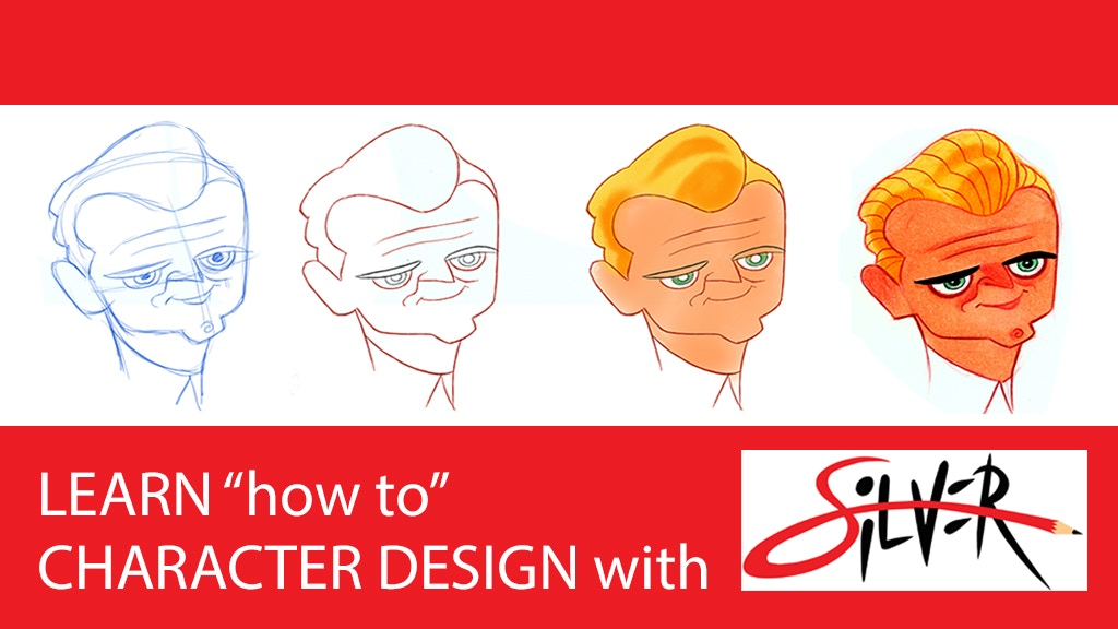 Character Design Group : Character design with silver a drawing guide book by