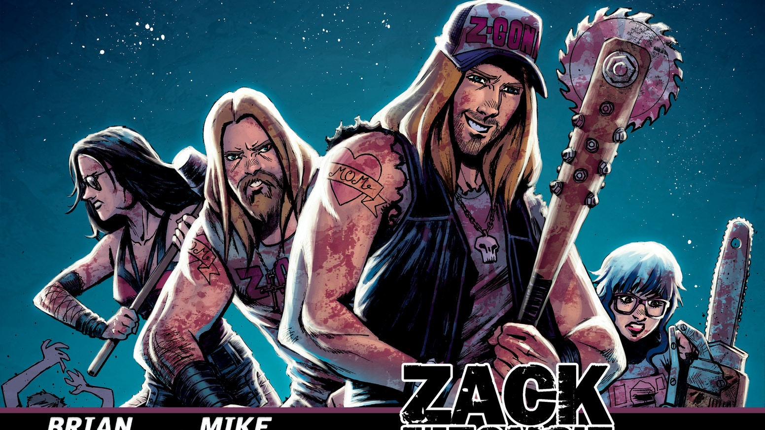 Zack the Zombie Exterminator is now available for purchase at Lady Death Store!
