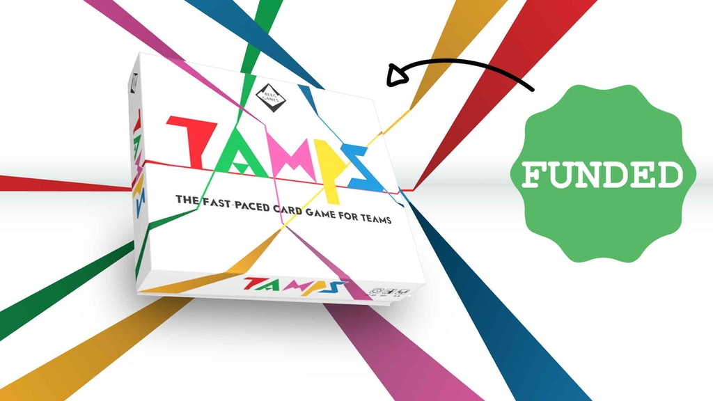 Tamps - The fast-paced card game for teams project video thumbnail