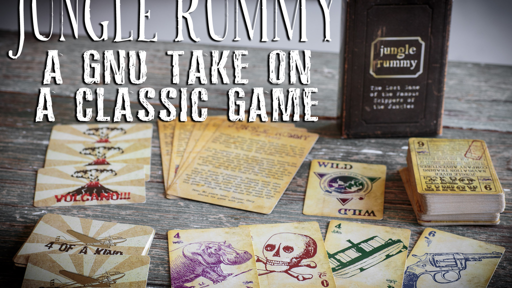 Jungle Rummy: A gnu take on a classic card game project video thumbnail