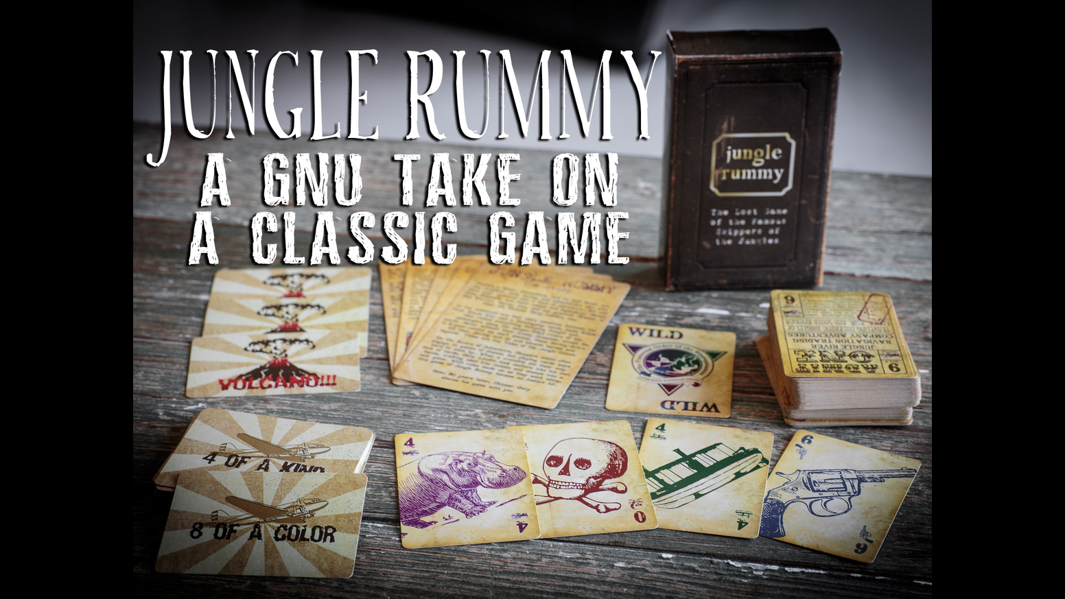 Color game trick - Jungle Rummy Is A Fast Playing 2 4 Player Casual Trick Taking Card Game