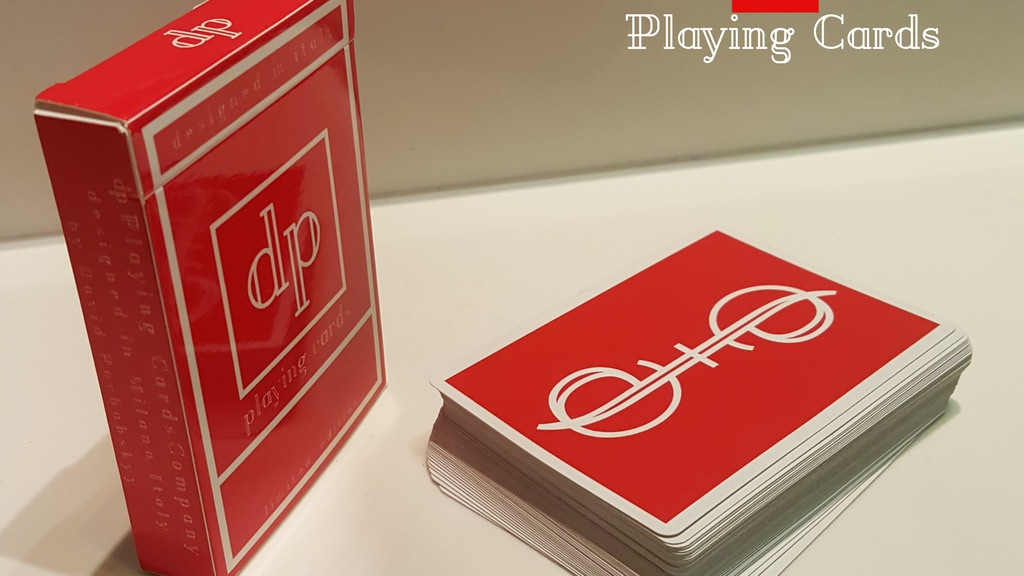 Project image for dp Playing Card unique deck, for cardists and Magicians