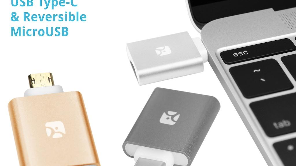 Mini MicroSD Reader Redux: Type-C, Aluminum, Reversible project video thumbnail