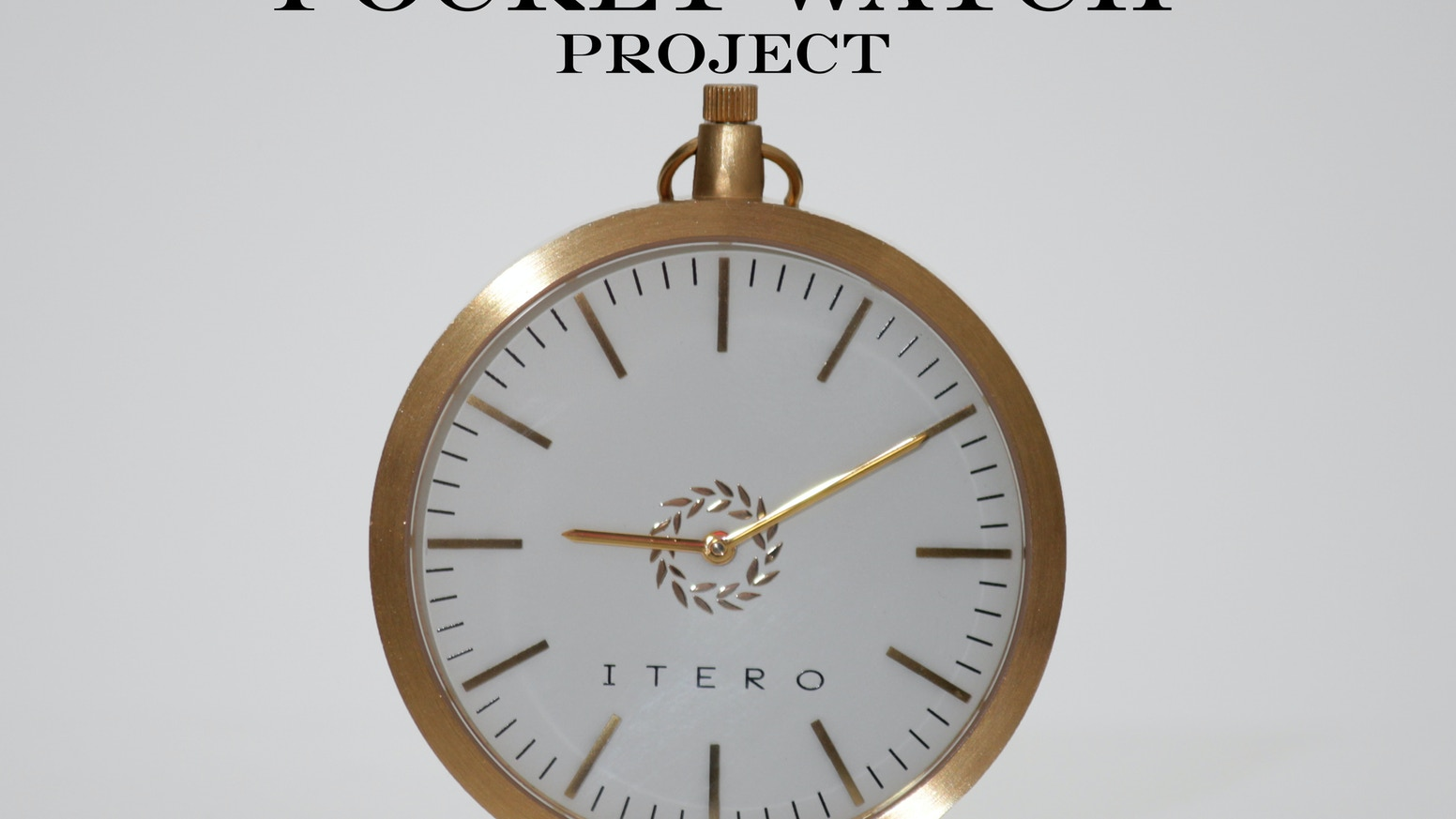 Itero pocket watches are back by itero watch kickstarter modernly designed pocket watches made for everyone minimalistic design swiss movement sapphire crystal jeuxipadfo Image collections