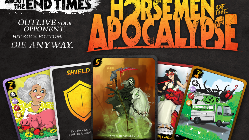 HORSEMEN OF THE APOCALYPSE: Card Game project video thumbnail