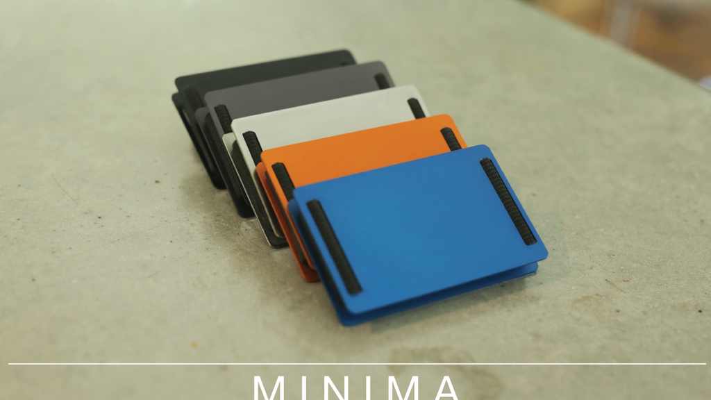 MINIMA - Minimal. Beautiful. Wallet. project video thumbnail