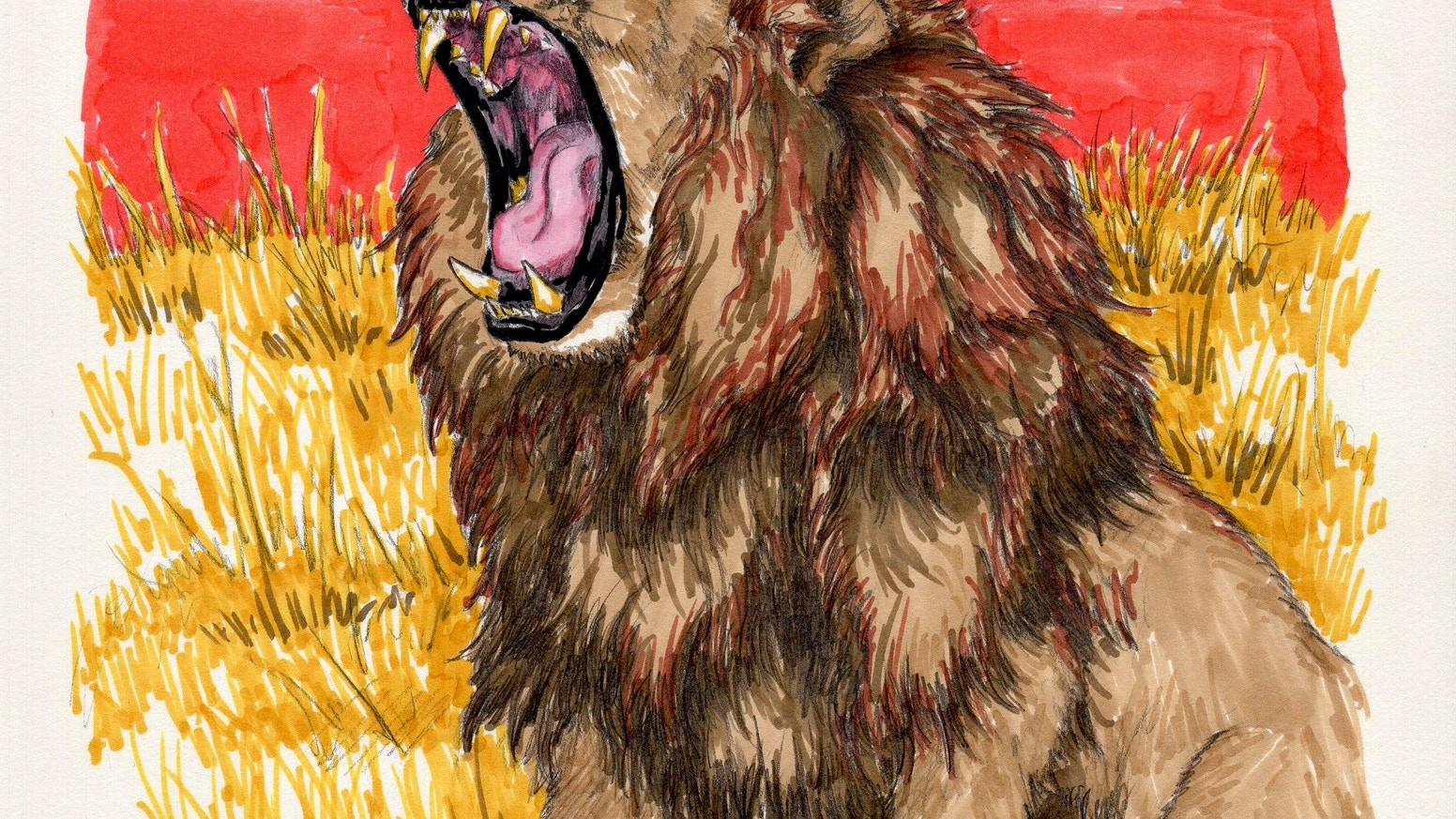 aad37195 I'd Punch a Lion in His Eye for You - Children's Book by Ben Wolf ...