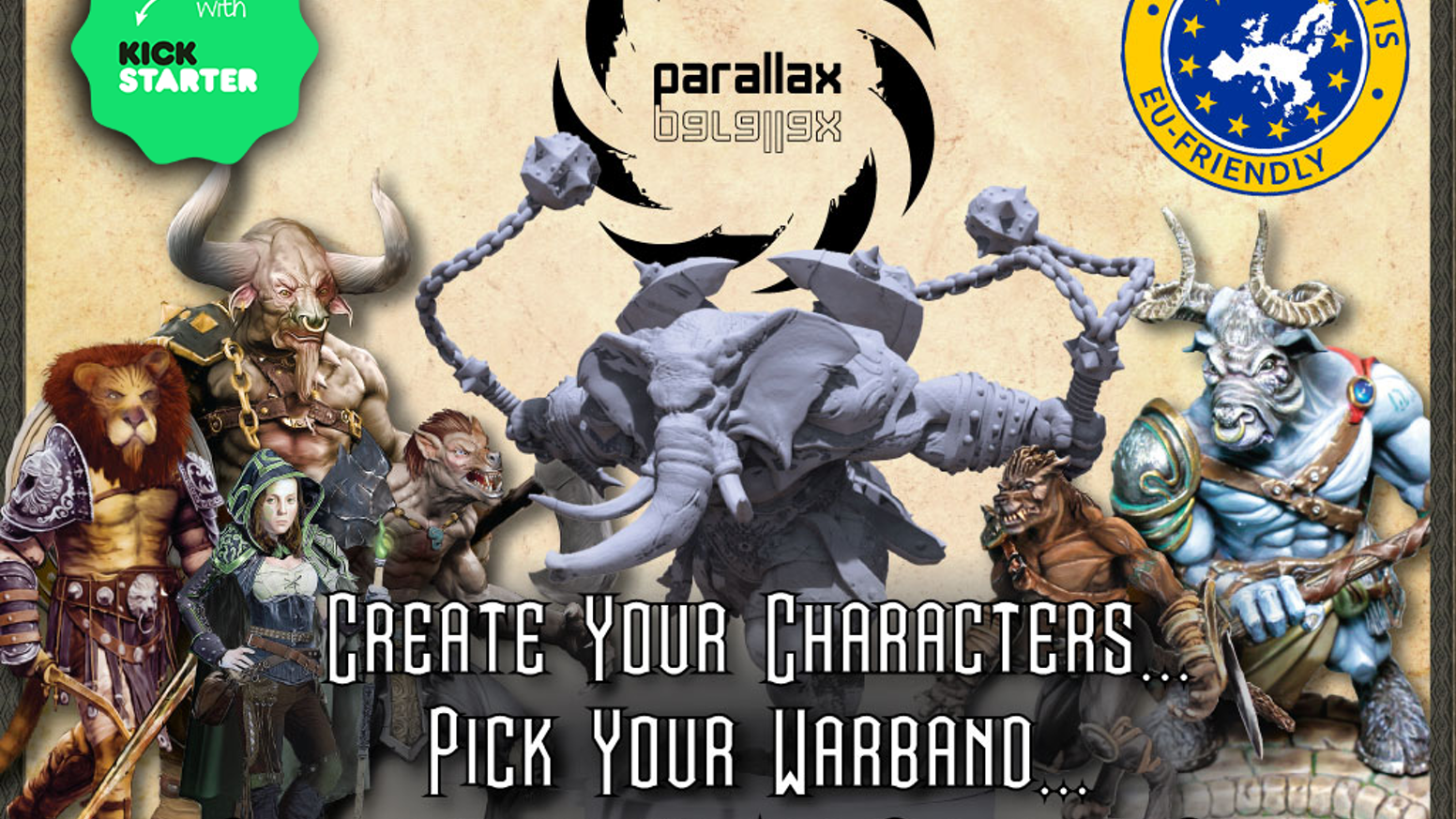 A miniatures game with RPG-style customizability. Create a Warband, complete missions, and bask in the glory of your accomplishments.