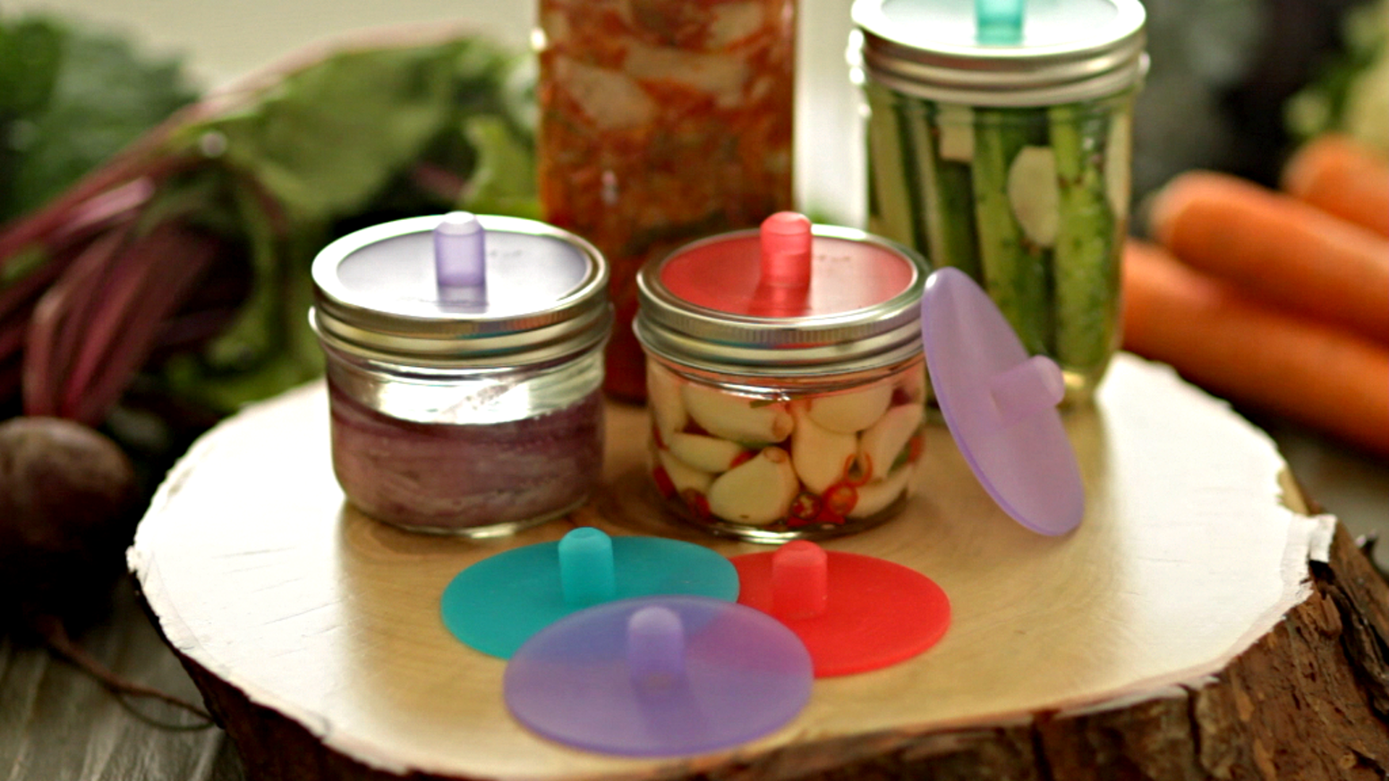 """Make fermented foods easily with this """"set and forget"""" airlock that requires no daily monitoring or maintenance whatsoever."""