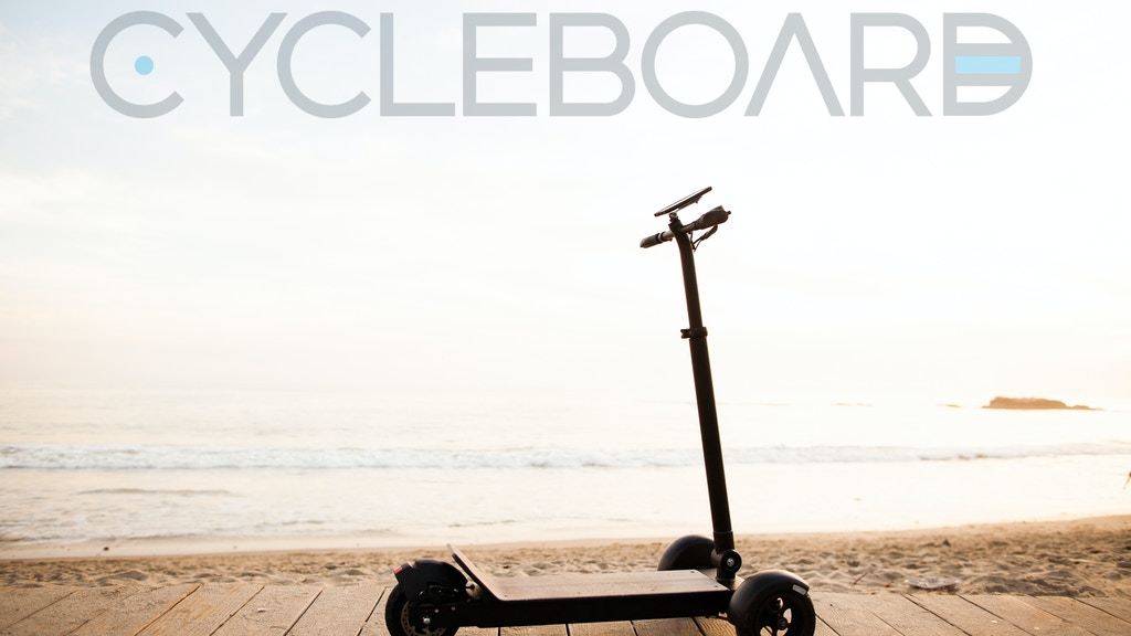 CycleBoard: World's Most Versatile Stand-up Electric Scooter project video thumbnail