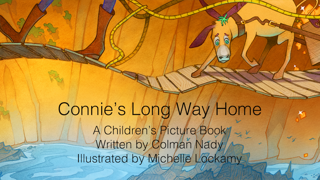Connie's Long Way Home project video thumbnail
