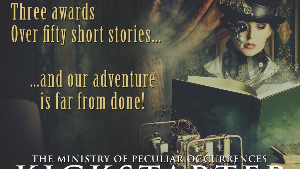 The Ghost Rebellion: Ministry of Peculiar Occurrences Book 5 project video thumbnail