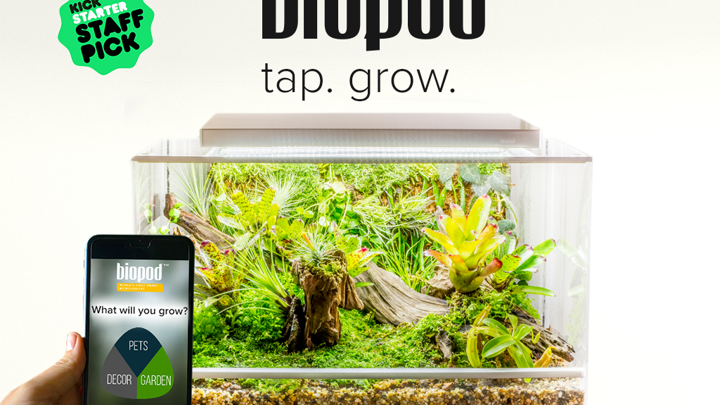 Biopod - World's First Smart Microhabitat project video thumbnail