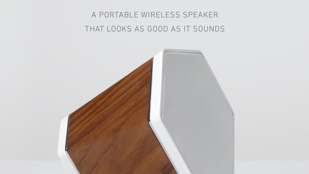 THE OUTLIER - Wireless Wood Speaker project video thumbnail