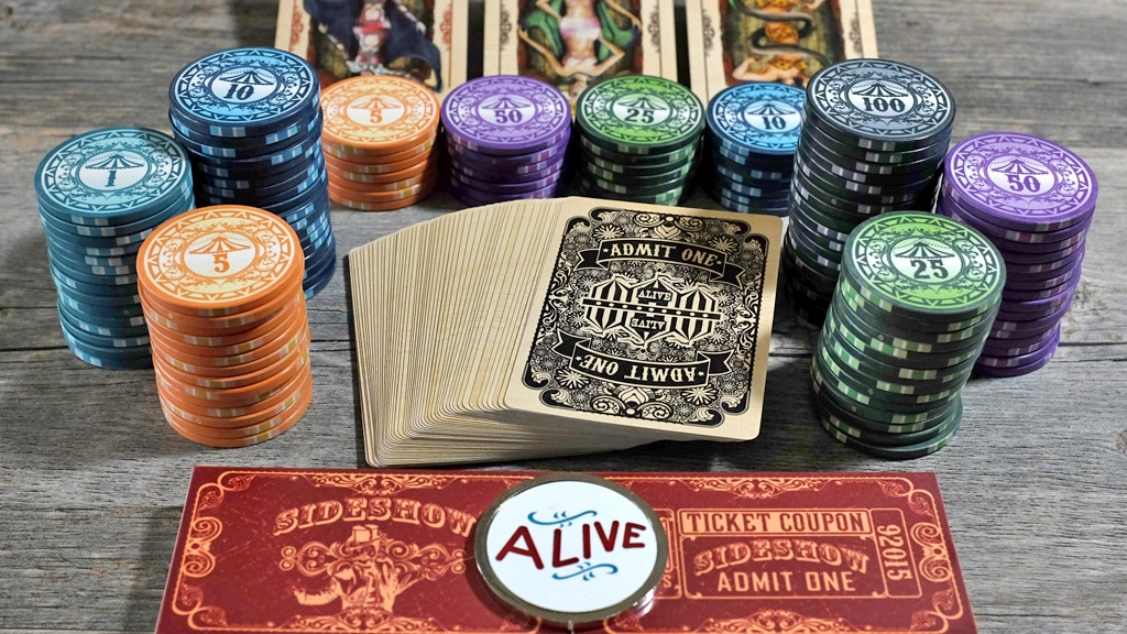 Sideshow Playing Cards & Midway Poker Chips LIMITED EDITION project video thumbnail