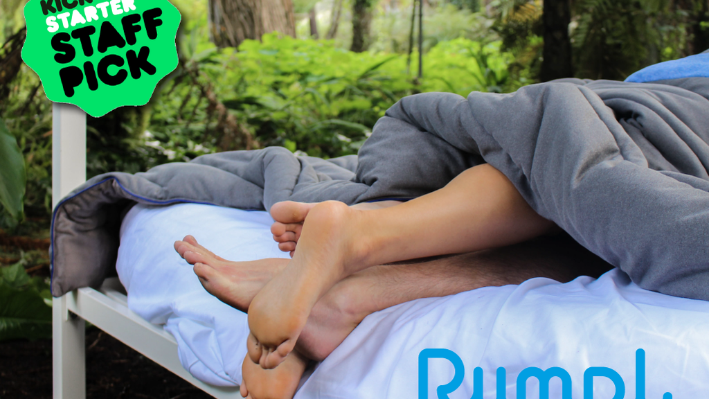 The Super Fleece by Rumpl: The Perfect Blanket for Your Bed project video thumbnail