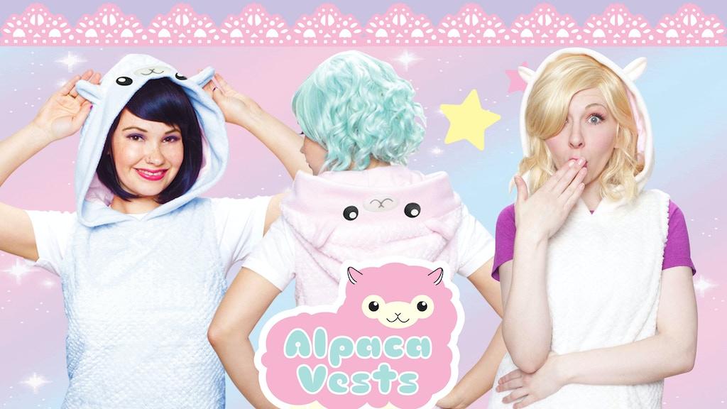 Crazyheads Handmade Alpaca-style Plush Vests project video thumbnail