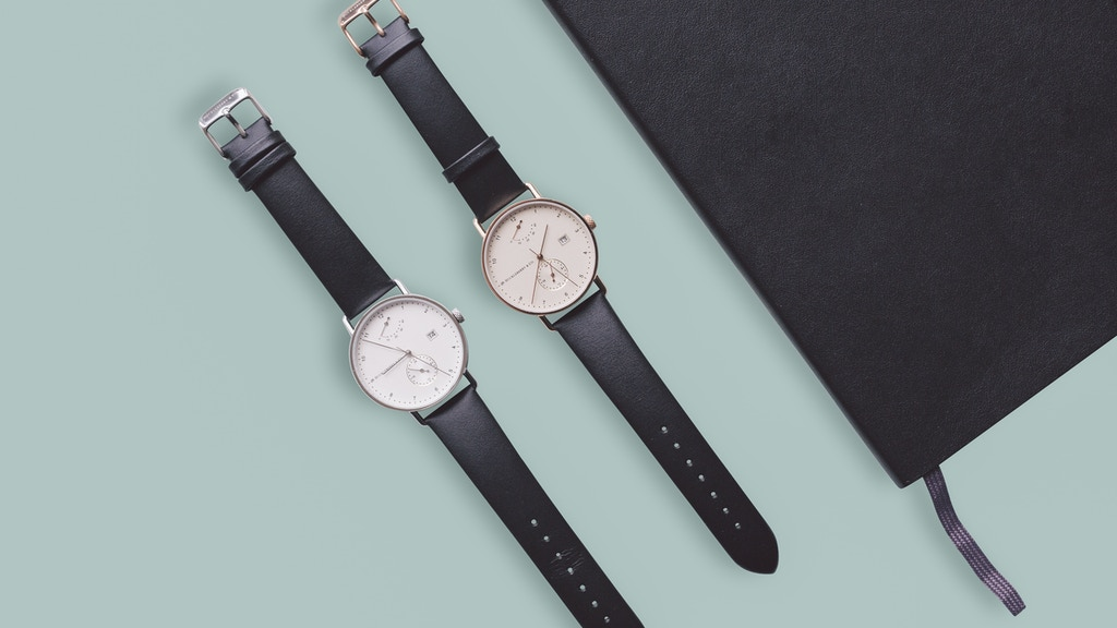 Archibald - A Bauhaus Designed Automatic Watch by H&Co. project video thumbnail