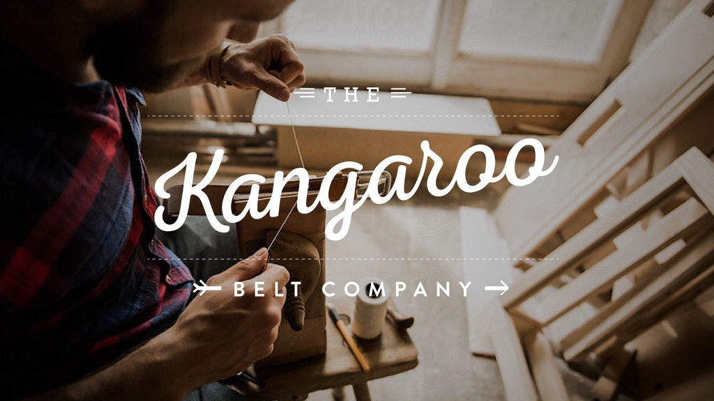 The Kangaroo Belt Company - Life Time Guaranteed project video thumbnail